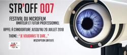 STR'OFF 007: appel à candidature