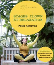Stage clown & relaxation
