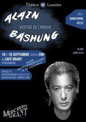 Mercredis du Brant : Alain Bashung - Vertige de l'amour