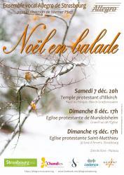 Ensemble vocal ALLEGRO de Strasbourg - Noël en balade