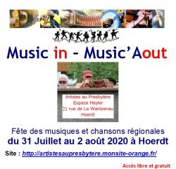 Festival Music in - Music'Aout