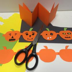 Fabrication d'une frise Halloween