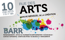 Barr 2015 mai Rue des Arts